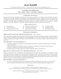 Construction Foreman Resume Examples by Construction Foreman Resume Resume Construction Supervisor