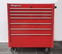 tool box snap on toolbox red roll cab kr657b bottom tool box 7 drawers ready