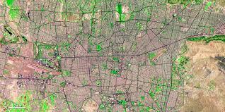 tehran satellite map nasa visible earth tehran urbanization