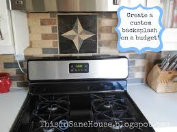 kitchen backsplash on a budget this insane house kitchen backsplash on a budget