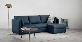 milner right hand facing corner storage sofa bed with memory foam