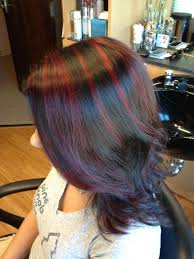 mahogany red hair with high lights best 25 chunky highlights ideas on pinterest blonde highlights