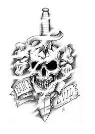 best 25 evil skull tattoo ideas on pinterest skull tattoos