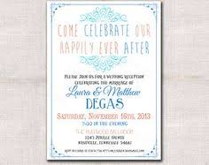 post wedding reception wording exles elopement party announcement range of light pinteres