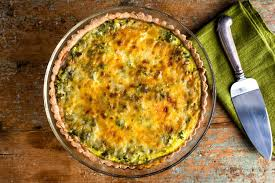scallion and celery quiche recipe nyt cooking