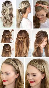 quick hairstyles for long hair at home quick easy formal party hairstyles for long hair diy ideas 2018