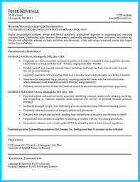 Bank Teller Objective Resume Examples by One Of Recommended Banking Resume Examples To Learn