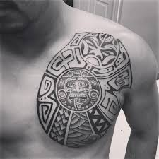 50 traditional aztec tattoos for chest