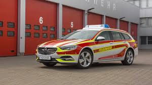 opel christmas opel insignia sports tourer reporting for fire department duty