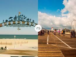 vacation faceoff ocean city md vs ocean city nj united