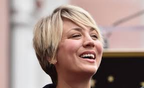 why kaley cucoo cut her hair kaley cuoco s horse compliments her hair watch the big bang