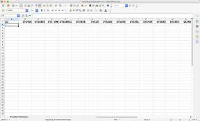 yhrd how to set up an excel openoffice or csv spreadsheet for