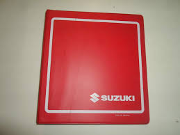 1998 2004 suzuki vz800 service manual binder loose pages stained