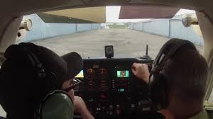 private pilot lesson number four different plane seat track