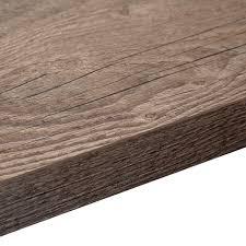 B And Q Laminate Flooring Underlay 38mm B U0026q Mountain Timber Square Edge Kitchen Worktop L 3 6m D