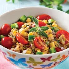 recettes cuisine salade d orge mondé vinaigrette à l origan recettes cuisine et