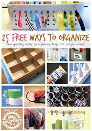 organize home 25 free ways to organize your home kids activities