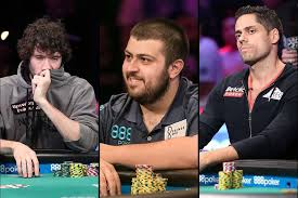 2017 world series of poker final table world series of poker main event down to final 3 players las vegas