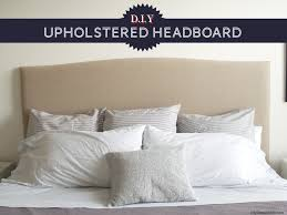 Diy Upholstered Headboard Diy Upholstered Headboard The Everygirl Regarding Fabric Ideas