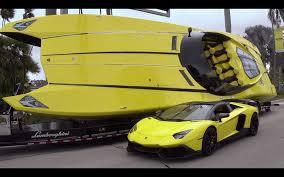 yellow lamborghini png gino gargiulo commissions speedboat to match lamborghini