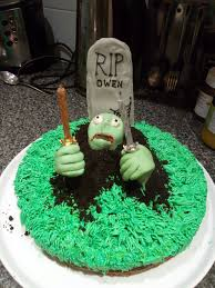 halloween birthday cake owen u0027s halloween birthday zombie cake eva the cake diva