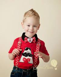 toddler bow tie mustache bow tie mustache suspenders boys bow