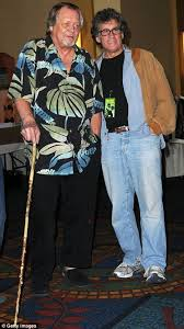 Starsky And Hutch Singer David Soul Walks With A Wooden Stick As He Is Reunited With His