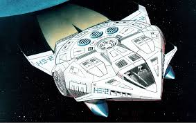 1990 Falcon Hardly Altered Millennium Falcon From The Sci Fi He Man Reboot