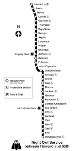Metro Chicago Map by Chicago Red Line Train Map Metro System U2022 Mapsof Net