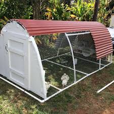 diy pvc coop backyard chickens
