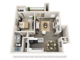 Floor Plan Of An Apartment 1 And 2 Bedroom Apartments For Rent The Arbors At Brookfield