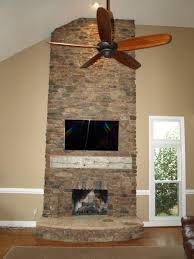 interior stone installation fireplaces wine rooms kitchens walls