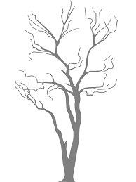 bare tree silhouette free vector silhouettes