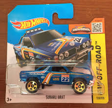 subaru brat 2015 subaru brat toy car die cast and wheels subaru brat 2015