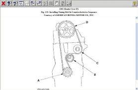 2001 honda civic timing belt tensioner 2001 honda civic timing belt tensioner engine mechanical problem