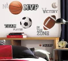 about wall decor s all star sports wall decal cutouts installed
