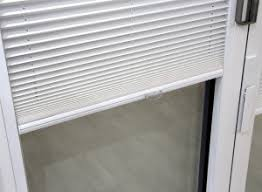 Supreme White Wooden Venetian Blind Blinds For Bifolding And French Doors Vufold