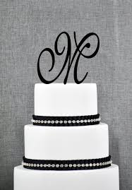 monogram cake toppers for weddings wedding cake letter toppers wedding definition ideas
