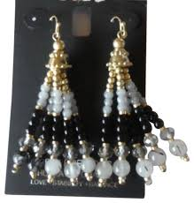 concepts earrings inc international concepts designer beaded gold earrings tradesy