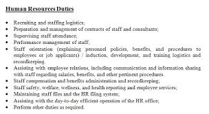 Hr Executive Resume Sample by Hr Manager Job Description Hr Job Description Sample Kit 2 Role