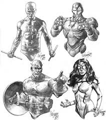 marvel heroes sketches by micosuayan deviantart com on deviantart