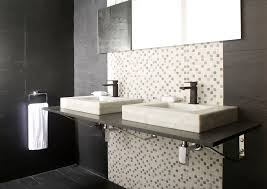 Porcelanosa Bathroom Furniture by Luxurious Modern Red White Bathroom Design With White Bathtub And