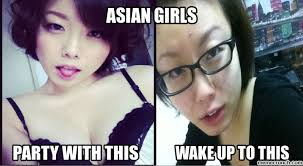 Asian Girl Meme - girl makeup