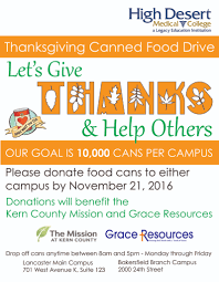 give what you can hdmc thanksgiving can drive high desert