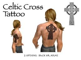second life marketplace celtic cross tattoos for arm u0026 back