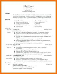 accounting resumes exles exles of accounting resumes template finance financial accountant
