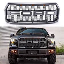 ford f150 f 150 raptor style paramount grille grill letters f r