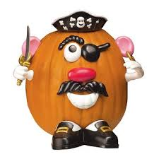 Safe and Fun Pumpkin Decorating with Mr Potato Head