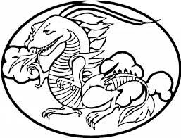 chinese dragon outline free download clip art free clip art