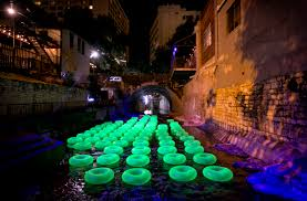 waller creek light show just four more nights to see creek show austin arts seeing things